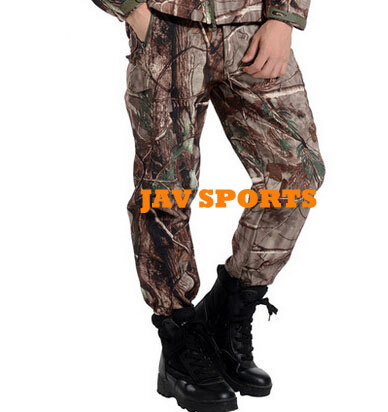 Softshell Hunting Camouflage Pants Realtree Pants In Realtree Xtra Camo+Free shipping(SKU12050462)<br>