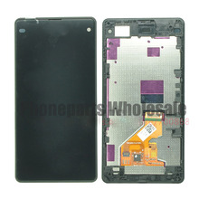 For Xperia Z1 Mini Z1 Compact D5503 M51W LCD Display + Touch Screen Panel Assembly with Frame Free Shipping