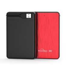 tool free 2.5 inch sata hdd enclosure ssd mobile hard boxes USB 3.0 external notebook hard disk case for 1TB hard driver MR23LA(China)
