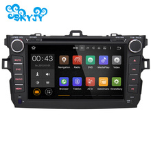 New 8 Inch Android 5.1.1 Car DVD Player GPS Navigation Radio Audio For Toyota Corolla GPS Navi Navigation System Autoradio