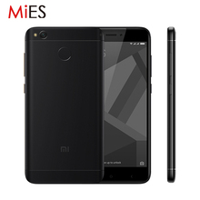 "Original Xiaomi Redmi 4X 4 X 3GB RAM 32GB Mobile Phone Snapdragon 435 Octa Core 5.0"" HD 4G LTE 13.0MP 4100mAh Fingerprint ID"
