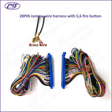 Free shipping universal standard 28pin Jamma Wire Harness for Arcade Game board Accessories with 5 6_220x220 harness board accessories promotion shop for promotional harness wire harness board accessories at gsmx.co