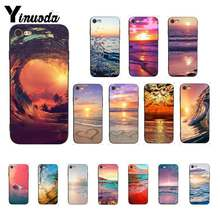 Чехол для телефона Yinuoda Golden Surfing Wave Sunset beautiful waves для iPhone 8 7 6 6S 6Plus 5 5S SE XR X XS MAX 11 11pro 11promax(China)