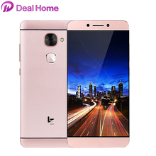 New arrival!Original Letv X626 LeEco Le S3 Mobile Phone 4G LTE Android 6.0 Deca Core 4GB 32GB 5.5 Inch FHD 21MP Cellphone(China)