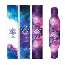 Starry Sky Series Anti-skid Skate Board Sandpaper 120*24cm Skateboard Griptape Longboard Grip Tape Also For Peny Board