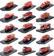 Atlas 1:72 Scale Model Car Fire Engine /Fighting Truck