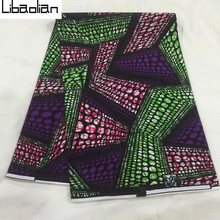 B078-9 Attractive pattern 6yds/pcs wholesale super java prints fabric in large stock 5colors,purple with green for party clothes