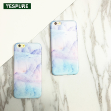 YESPURE 5.5inch Green Marble Fancy Cheap Cell Phone Case for Iphone 6plus/6s Plus 2017 Best- Selling Phone Accessories Mobile