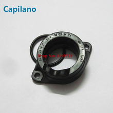 motorcycle GN250 carburetor intake interface pipe joint manifold Suzuki 250cc GN 250 engine spare parts - Capilano store