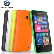 "Origina Nokia Lumia 630 Cell Phone  3G Windows Phone Qual-Core 4.5"" WIFI GPS 5MP 8GB Storage Dual sim Lumia 630 Mobile Phone"