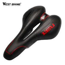 Bicycle Saddle Soft Comfortable Soft Breathable Silica Gel Cushion MTB Mountain Road Bike Saddle Skidproof Bicycle Seat(China)