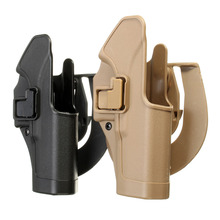 Hot Sale Outdoor Tactical gun Holster Military Airsoft Hunting Belt Holster Right Hand Pistol Holster Case For Glock 17