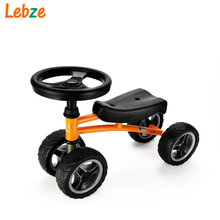 Child Drift Trike 4 Wheels Walker Kids Ride on Toys for 1-3 Years Tricycle Outdoor Driver(China)