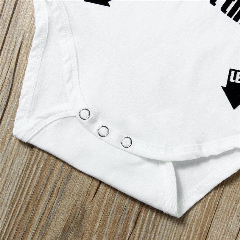Summer Babys Romper Jumpsuit Toddler Infant Baby Girl Boy Short Sleeve Letter Romper Jumpsuit Baby Boy Girl Clothes M8Y18 (4)