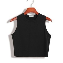 Buy Crop Tops Womens 2018 Summer Workout Tank Top Fitness New Tank Tops Women Sleeveless T Shirt Ladies Vest Casual tops for $4.96 in AliExpress store