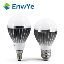 E27 E14 LED lamp IC 3W 5W 7W 9W 12W 220V LED Lights Led Bulb bulb light lighting high brighness Silver metal