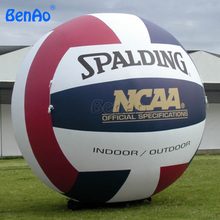 AG096 Free shipping+blower hot selling giant inflatable volleyball for advertising/outdoor inflatable volleyball model/balloon(China)