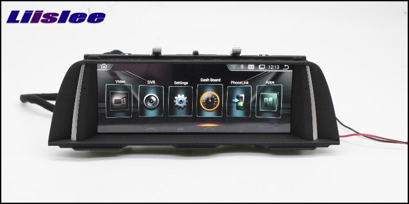 For BMW 5 Series F10 F11 2010~2012 LiisLee Car Multimedia GPS Audio Hi-Fi Radio Stereo Original Style For CIC Navigation NAVI 3