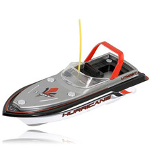 2015 Remote control hovercraft toy RC Boat barco de pesca Lancha electric plastic battery USB charger scale models water toys(China)