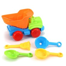 Funny Bath Beach Toy Bucket Shovels Cars Tools Baby Children Bath Beach Sands Outdoor Toys for kids girls boys