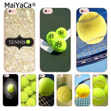 MaiYaCa Sport tennis ball Top Detailed Popular Phone case for iPhone 8 7 6 6S Plus X 10 5 5S SE 5C 4 4S Coque Shell(China)
