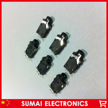 100pcs 2.5mm headset audio socket/jack PJK-227 Audio Jack Headphone Jack for Ramos/Onda/DO Quick/Geme/MP4/MP5/Phone/Tablet PC