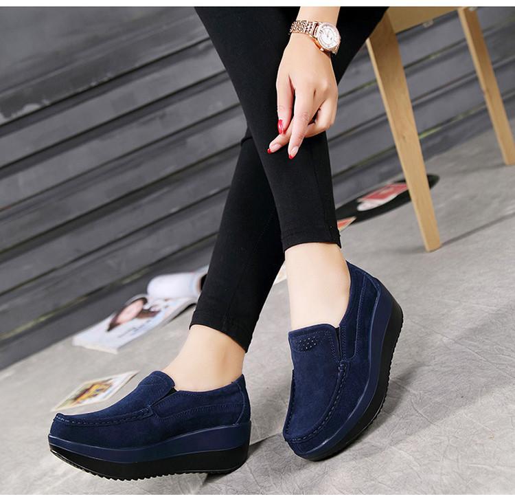 HX 3213 (15) Autumn Platforms Women Shoes