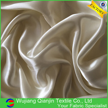 Worth buying fashion design best shiny washable copper satin fabric