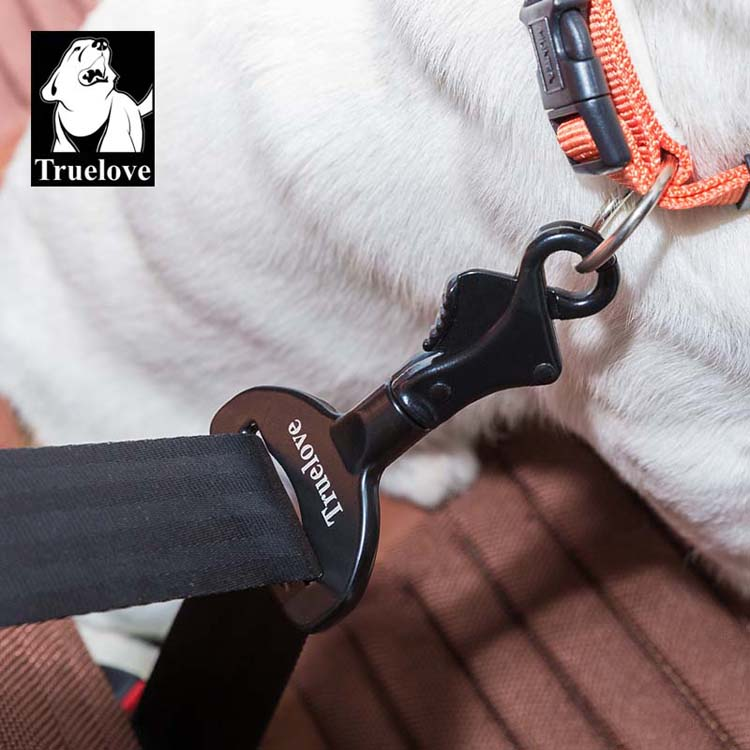 Truelove Vehicle Car Pet Dog Seat Belt Lock Harness Collar Clip Safety Lighweight Durable Aluminium-Alloy Dog Supplies Dropship (6)