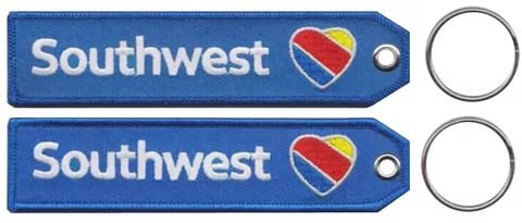 EM-4056 Southwest airlines keychain