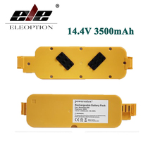 ELEOPTION2x 14.4V 3500mAh Vacuum Battery APS For iRobot Roomba 400 405 410 415 416 418 Series 4000 4100 4105 4110 4210 4130 4232(China)