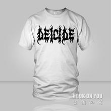 Heavy metal Rock Band Music deicide T Shirt pattern Men Short Sleeve Summer Tops For Man Famous Brand Design Causal Male Tees