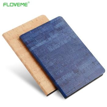 Floveme original clásico caso del patrón de piedra para ipad air 1 air 2 360 de cuero completo shell protector para ipad 5 6 + pc dura cubierta
