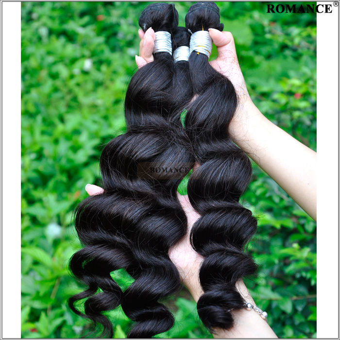 Romance 7A Malaysian Loose Wave Unprocessed 3pcs Loose Wave Malaysian Virgin Hair Dyeable Malaysian Hair Weave Bundles<br><br>Aliexpress