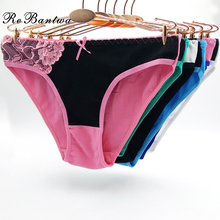 Buy Wholesale 10pcs Women Cotton Underwear Femme Sexy Panties Ladies Lace Patchwork Knickers Female Briefs New Lingerie Women