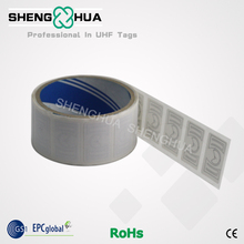 10pcs/pack Anti-counterfeiting Rewritable RFID Sticker Label Warehouse Management UHF Passive RFID Tag for Supermarkets(China)