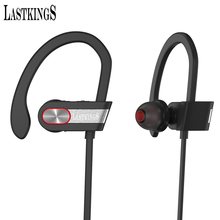 Lastkings wireless bluetooth headphones with microphone for phone sport stereo earphone Ear Hook headset waterproof