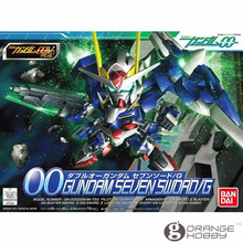 OHS Bandai SD BB 368 Q-Ver OO Gundam Seven Sword/G Mobile Suit Assembly Model Kits
