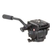 KINGJOY VT-3510 Pro Heavy Duty Video Camera Tripod Head Action Fluid Drag Head with Sliding Plate as Manfrotto 701HDV