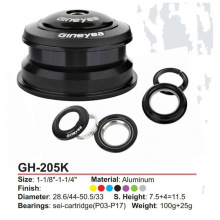 Gineyea GH-205 44mm-50.6mm CNC bearing atx XTC MTB Giant Bicycle Headset special offer ciclismo pecas accessories