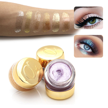 16 Colors Alpha Single Glitter Eye Shadow Jelly Gel Party Metallic Eyeshadow Pigment Sombras Sparkles Professional Eye Makeup(China)