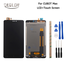 Ocolor 6.0inch For Cubot Max LCD Display+Touch Screen Android 6.0 Screen Digitizer Assembly 1280X720 FHD+Tools+Adhesive Hot(China)