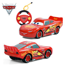 2017 Disney Pixar Cars 3 Toy Juguetes Carros Lightening McQueen Remote Control Car for Kids Boys Xmas Gifts Birthday Educational(China)