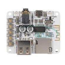 Bluetooth Audio Receiver board with USB TF card Slot decoding playback preamp output A7-004 5V 2.1  Wireless Stereo Music Module