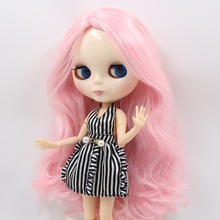 NO.1003/1215 Factory NEO blythe joint doll pink hair offer toy gift special price on sale suitable makeup in yourself