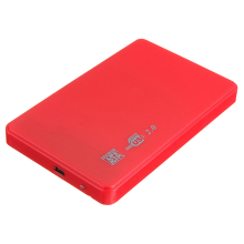 "2.5 ""SATA HDD HARD DISK HD USB 2.0 SLIM CASE BOX EXTERNAL DRIVE ADAPTER + CABLE(China)"