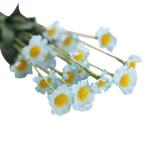 natural environment Artificial Silk Fake Flowers Small Daisy Wedding Bouquet Party Home Decor Lifelike beautiful good-looking