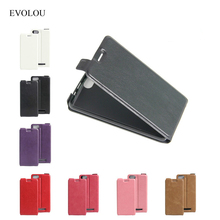 BQ 5020 Case Flip Leather Cover For BQ Strike 5020 Telephone Cases BQS-5020 5.0 Luxury Open Up And Down Protective Phone Bags