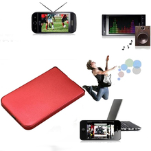 New Arrive Red External Enclosure for Hard Drive Disk 2.5 Inch Usb 2.0 Ide Ultra Thin Hdd Portable Case
