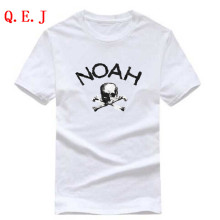 Q.E.J 2017 American street skull head tide brand summer lovers tide male round neck short sleeve T shirt XS-XXL 18 colors